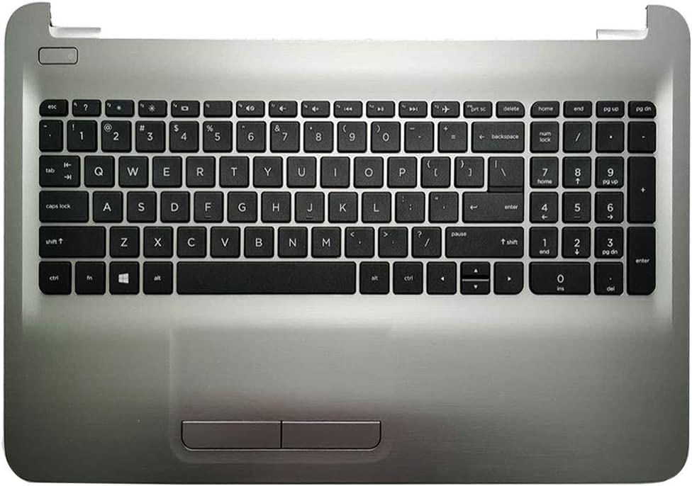 Laptop Replacement Keyboard Fit HP Pavilion TPN-C125 TPN-C126 15-AC 15-AF 15-AY 15-BA 250 G4 255 G4 256 G4 US Layout with C Shell