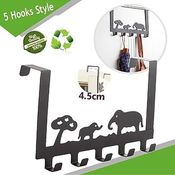 Türgarderobenhaken Morbuy Tier Design Metall 45cm Türhaken