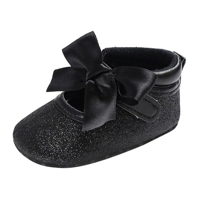 ❤ Zapatos para bebé Primer Paso, bebé Infantil Kids Girl Soft Sole Crib Toddler recién Nacido Zapatos Absolute: Amazon.es: Ropa y accesorios