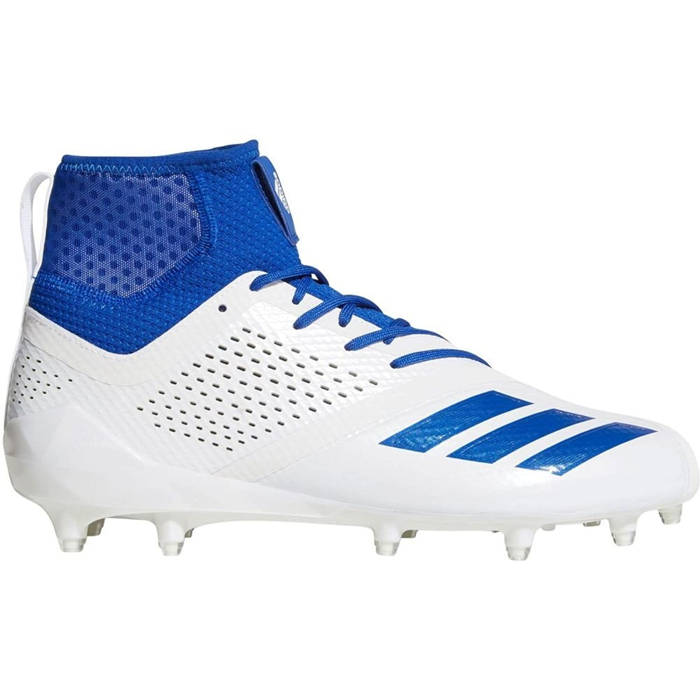 (アディダス) adidas メンズ アメリカンフットボール シューズ靴 adiZERO 5-Star 7.0 SK Mid Football Cleats [並行輸入品] B07CGGJDMH 12.0-Medium