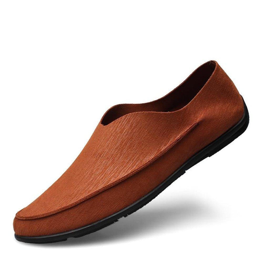 Hongjun-scarpe, Uomo Minimalism Driving Driving Driving Loafer Mocassini da barca tinta unita Mocassini uomo 2018 (Colore   Marrone, Dimensione   38 EU) abfe68