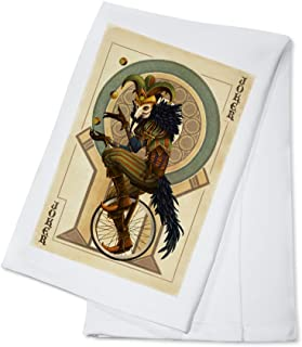 product image for Joker - Playing Card (100% Cotton Kitchen Towel)