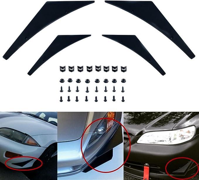Bumper Splitters Carbon Fiber JDM Sporty Lip Fins Diffuser Canards Valence Chin