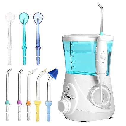 Power Lead Agua Dental hilo dental Oral Irrigator hilo dental de agua energía eléctrica 700 ml Waterpik para dientes, tirantes y puentes: Amazon.es: Hogar