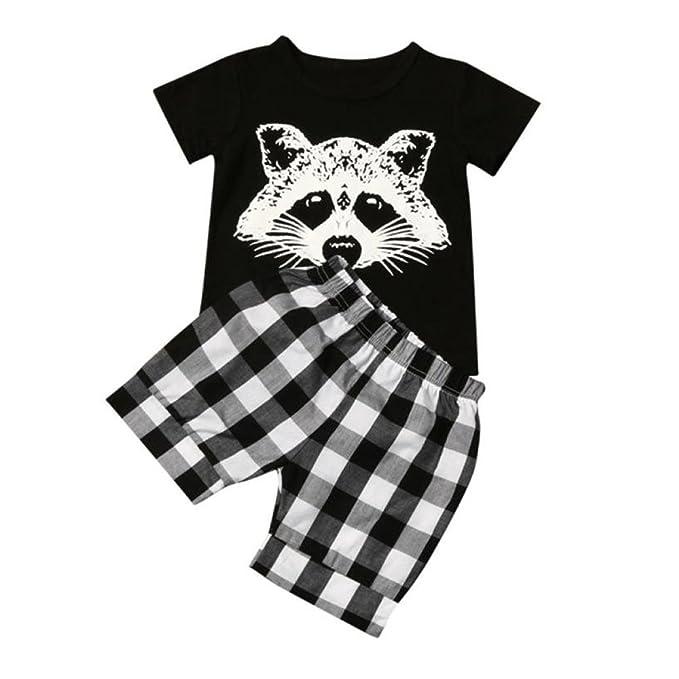 Amazon.com: lurryly 2018 para bebé, Fox impresión DE dibujos ...