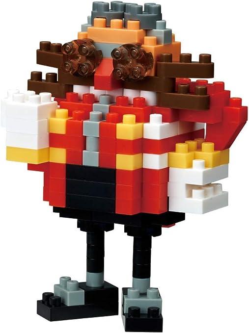 Amazon Com Nanoblock Nbcc083 Dr Eggman Sonic The Hedgehog Toys Games
