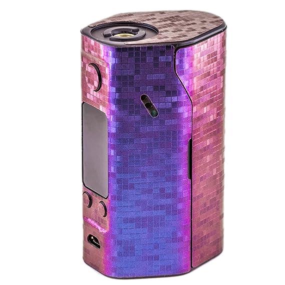 Pimp my vape pixels custom protective vinyl decal for ecig e cigarette
