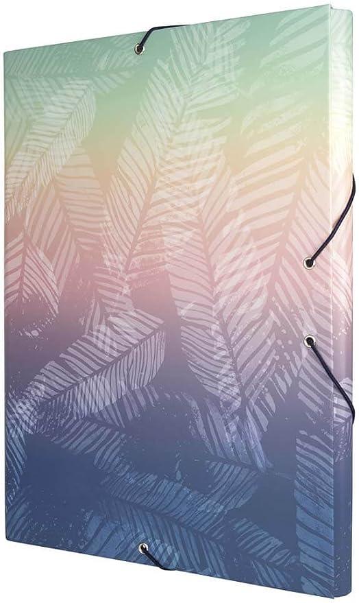 Carpeta Milan Sunset Tres Solapas: Amazon.es: Oficina y papelería