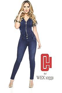 0e76ba10ec5c Made In Colombia ENTERIZO CHEVIOTTO Jeans Colombiano - Jumpsuits Ref 10331