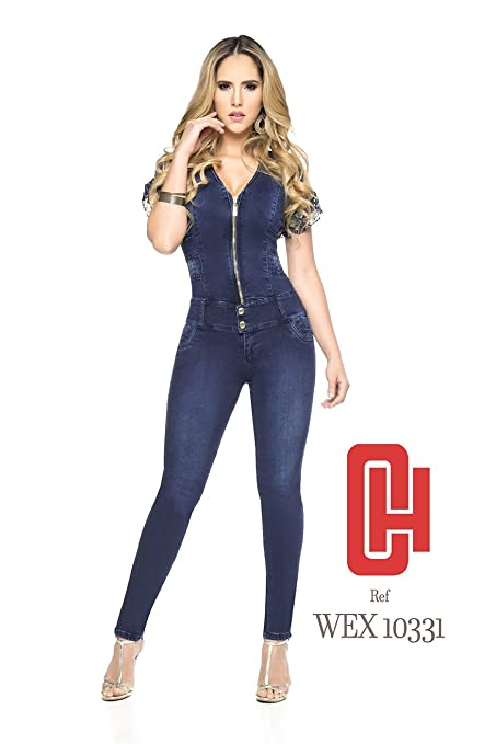 ba8b48f89ddb Made In Colombia ENTERIZO CHEVIOTTO Jeans Colombiano - Jumpsuits Ref 10223 (14  COL 9