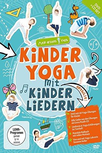 Kinderyoga mit Kinderliedern - mein erstes Yoga DVD+CD+ ...