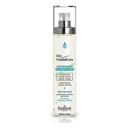Piel cristal atención Micellar limpieza del rostro y relajante agua 200 ml