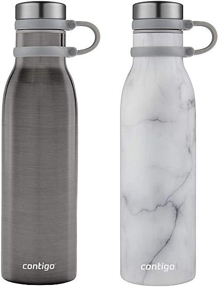 Contigo Thermalock Vacuum Insulation Black//Grey 2-Pack