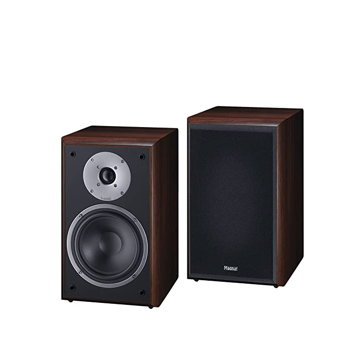 Magnat Monitor Supreme 202 - Altavoces de estantería (Hi-Fi, 93 dB, 100 W RMS), Color marrón: Amazon.es: Electrónica