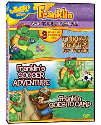 Franklin Triple Feature - Finders Keepers for Franklin/Franklin's Soccer Adventure/Franklin Goes to Camp