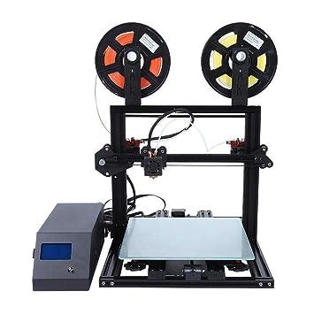 VBESTLIFE Impresora 3D, Aluminio FDM-Formteil-DIY-Desktop-LCD-3D ...