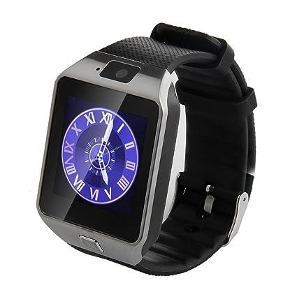 Amazon.com: soyan última DZ09 reloj teléfono celular reloj ...