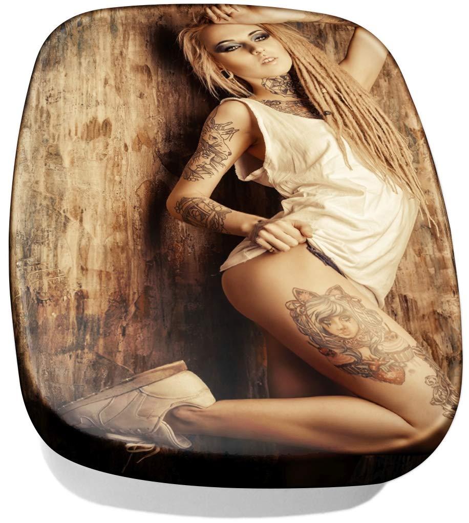 Fiambrera sandwichera Pin Up Art Adulto Tatuaje mujer impreso ...