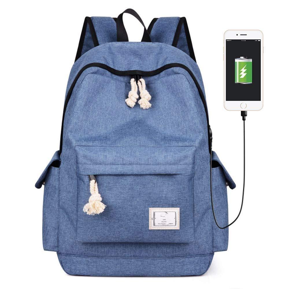 bluee DYR Student Bag Men's and Women's Shoulder Bag Casual Handbag Outdoor Travel Bag Shoulder Bag Chest Bag