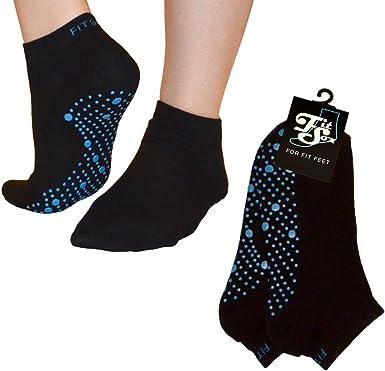 Dance Yoga Pilates Martial Arts Barre Anti-slip // Non-slip Grip Socks Gym