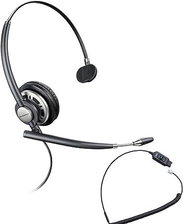 Amazon Com Avaya Phone Compatible Plantronics Encorepro 710 Headset Bundle W Mute Button Phones 1608 1616 9601 9608 9610 9611 9611g 9620 9620c 9620l 9621 9630 9640 9640g 9641 9650 9650c 9670 Office Products