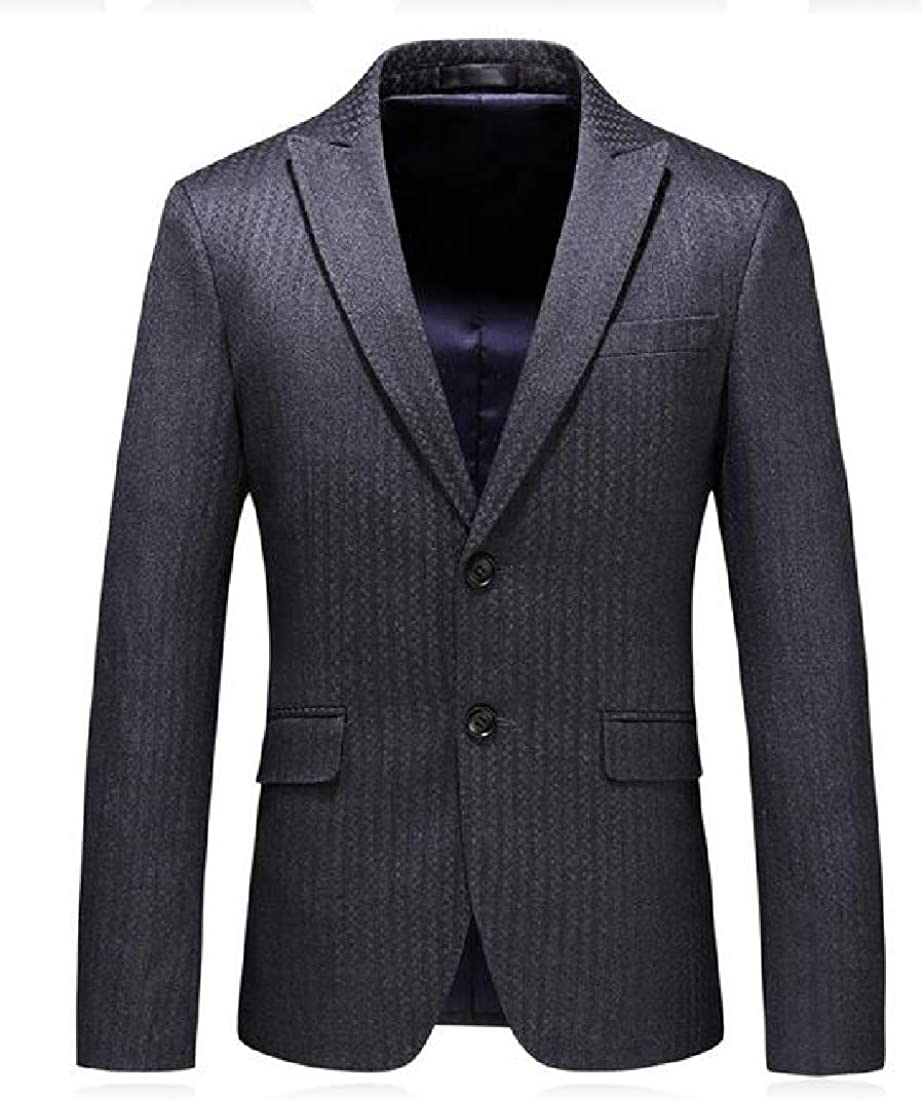 SHOWNO Mens 2 Buttons Casual Business Slim Fit Blazer Vest Pants 3 Pieces Suit Set Grey