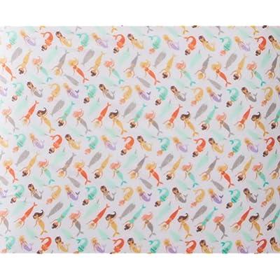Pillowfort Magical Mermaids Microfiber Sheet Set Twin: Home & Kitchen