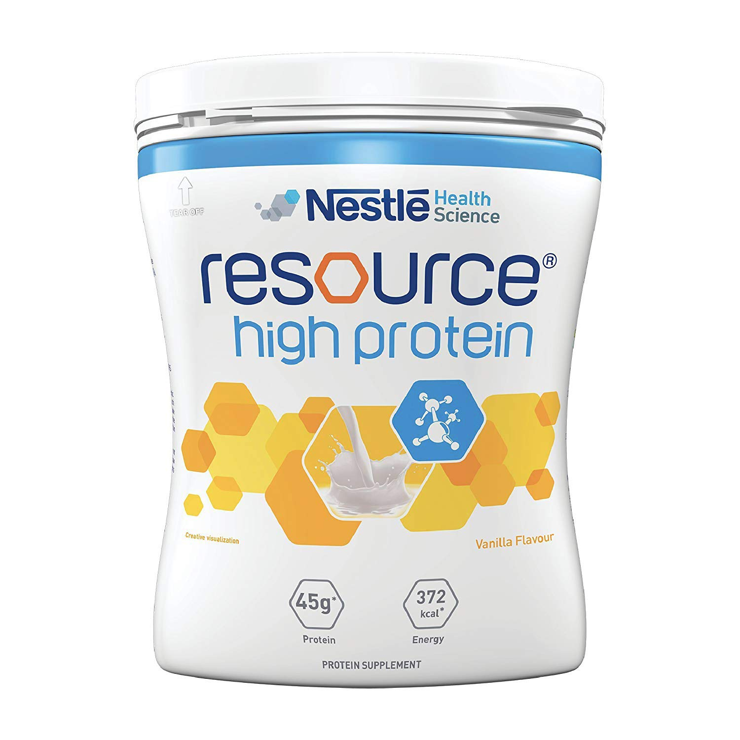 Nestle Resource High Protein - 400g Pet Jar Pack (Vanilla Flavor)