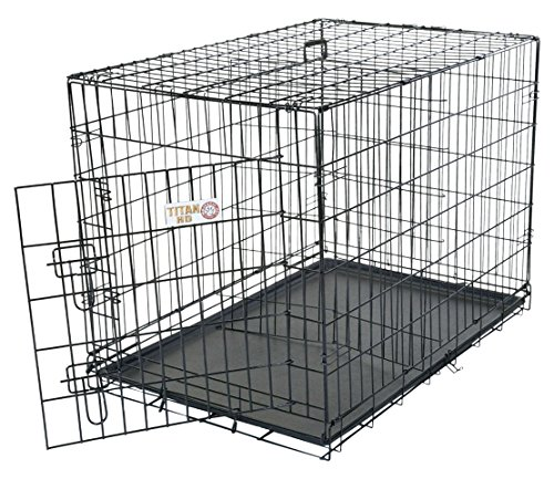 48 inch Single Door Folding Dog Crate By Majestic Pet Products Extra Large