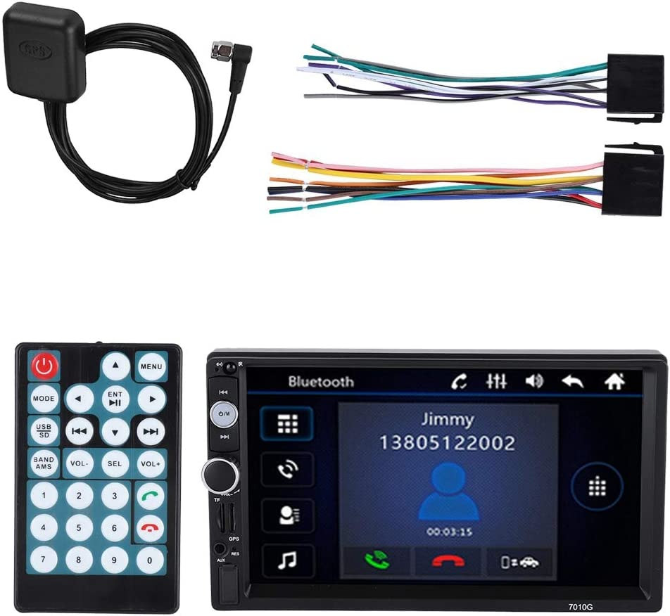 2 DIN 7inch Car Stereo Audio MP5 Player Antena GPS Indash ...