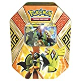 Pokemon TCG:: Sun & Moon Guardians Rising Collector's Tin Containing (4 Piece), Booster Packs and Featuring a Foil Tapu Koko-GX