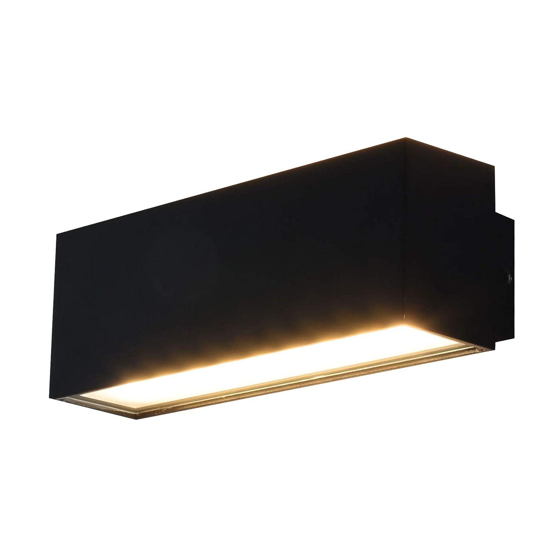 MAXKOMFORT LED Außenleuchte Außenwandleuchte IP54 Anthrazit 6W Wandlampe Wandleuchte up& down Außenlampe Lampe 1349A wandaußenleuchte… [Energieklasse A+] Maxkomofrt GmbH MA-LP1349A