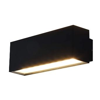 Beliebt MAXKOMFORT LED Außenleuchte Außenwandleuchte IP54 Anthrazit 6W NI14