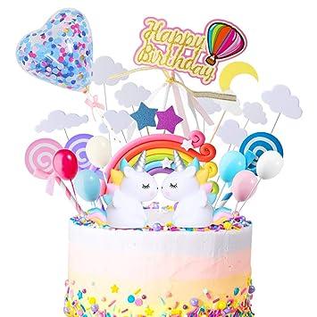 Amazon.com: ONESING - 29 piezas de decoración para tartas de ...