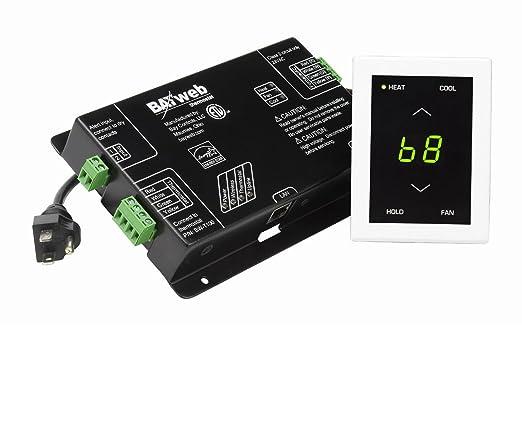 Bahía controles, LLC bw-wt1-w BAYweb Internet termostato, color blanco