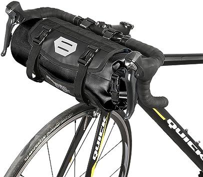 Roswheel Bolsa Delantera de Bicicleta, 100% Impermeable Bolsa para ...