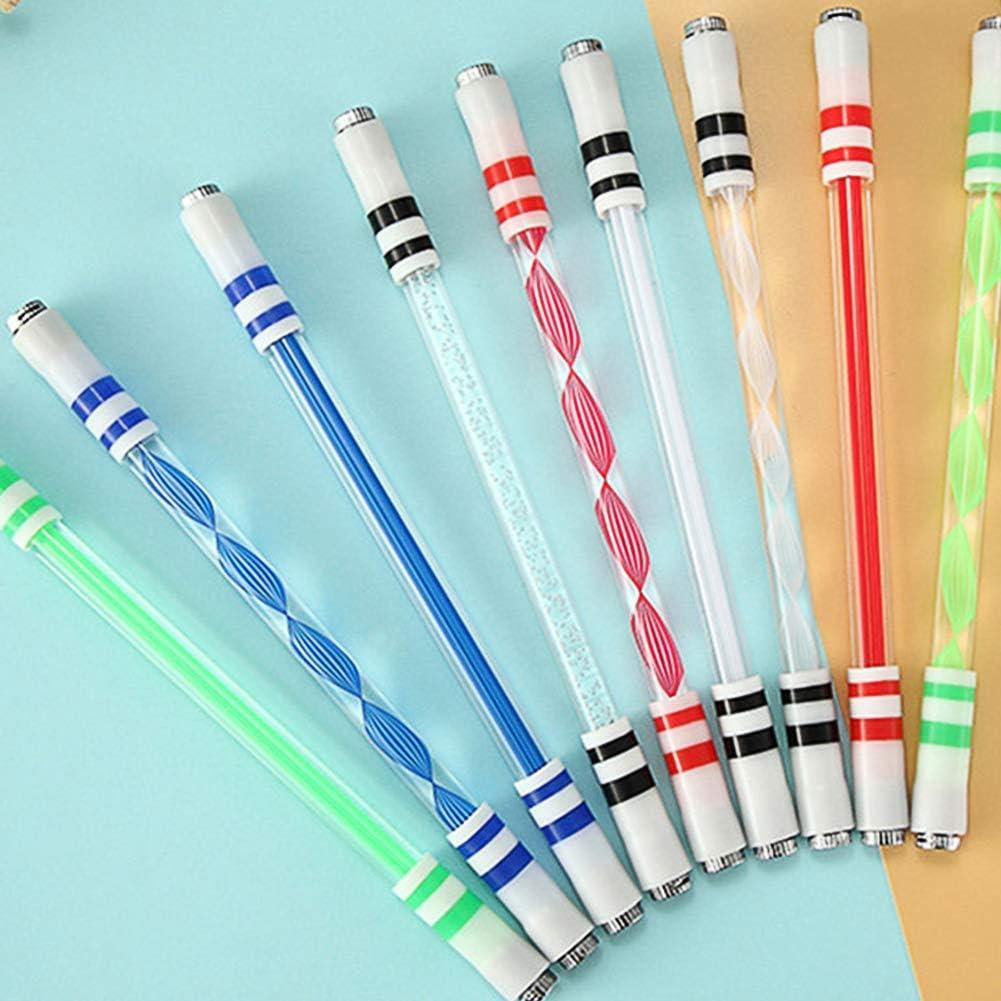 DragonPad Pen Spinning E15 Stylo Roulant Stylo Tournant Lumineux Stylo Sp/écial sans Recharge pour Enfants