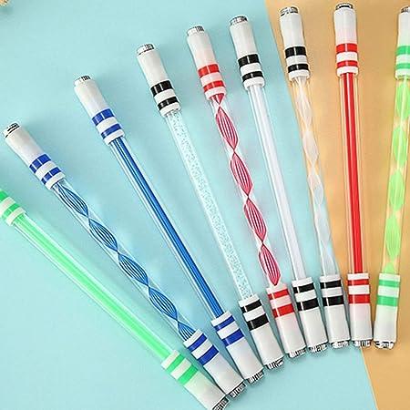 DishyKooker E15 Illuminated Spinning Pen Rolling Pen Bolígrafo ...