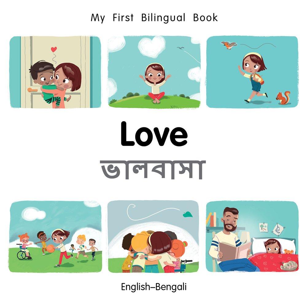 Download My First Bilingual Book–Love (English–Bengali) pdf epub