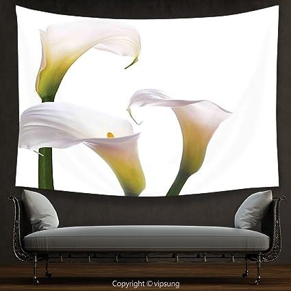 amazon com house decor tapestry flower decor lilac bouquet pure