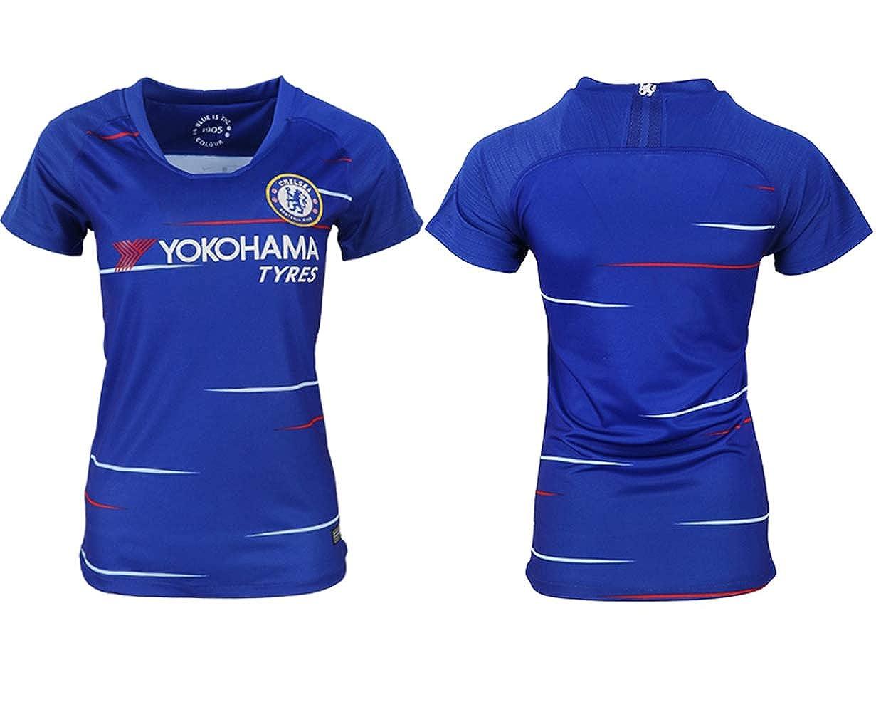 e835de906 Amazon.com  Global sports 2018-2019 Chelsea Women s Home Football Shirt  (XS)  Clothing