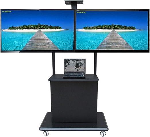 XUE Altura Adjustable TV Stand de TV Cart, para 32 – 70 Pulgadas ...