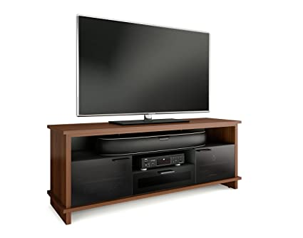 BDI Braden 8828 Triple Wide Enclosed TV Cabinet (Chocolate Stained Walnut)