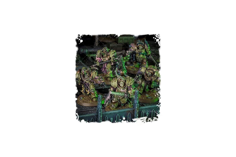 Games Workshop 99120102074'' Death Guard Blightlord Terminators Miniature by Games Workshop (Image #7)