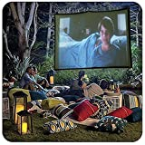 """Damaja 100"""" Inches 16:9 Simple Portable Projector"""