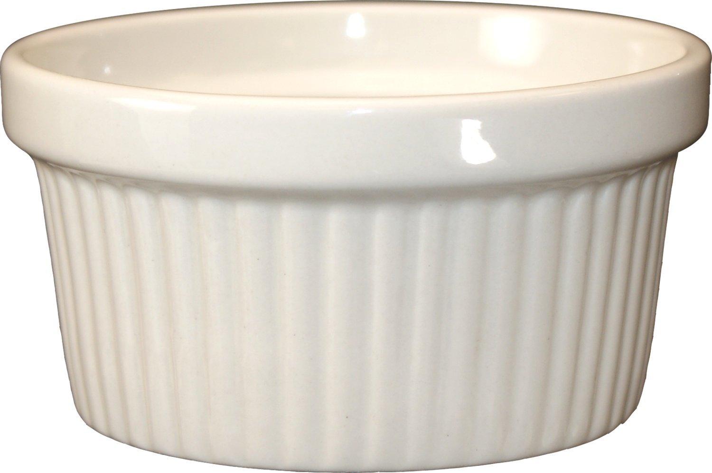 ITI-RAMF-4-AW Fluted Ramekin, 4-Ounce, 36-Piece, American White