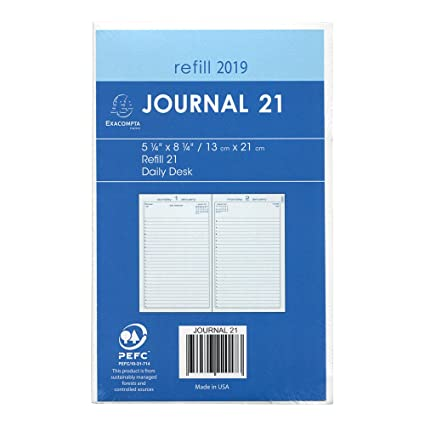 amazon com quo vadis journal 21 2017 planner refill appointment