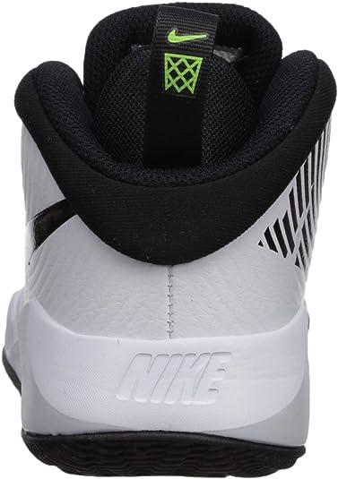 Nike Team Hustle D 9 (GS), Chaussures de Basketball Mixte Adulte