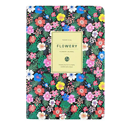 (Heidi Flowery Notebook Journal for Girls Diary Writing Book Softcover Daily Planner Organizer)