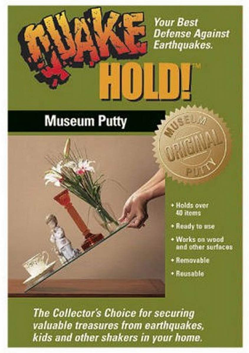Quakehold 88111 Museum Putty Neutral